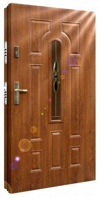 Drzwi zewnętrzne metalowe mrówka