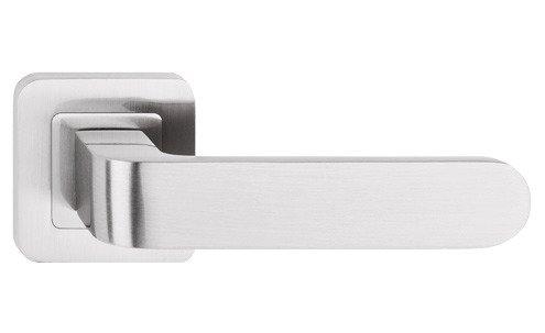 Klamka drzwiowa RIO - Metal Bud - wewnętrzna - nikiel-satyna; patyna; grafit; chrom
